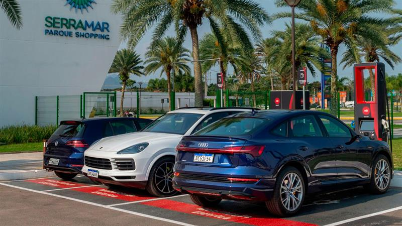 Audi, Porsche e VW criam rede de carregamento ultrarrápido