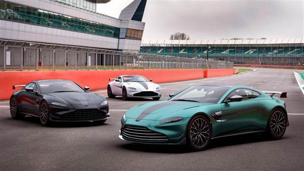 Aston Martin Vantage ganha série em alusão à Fórmula 1
