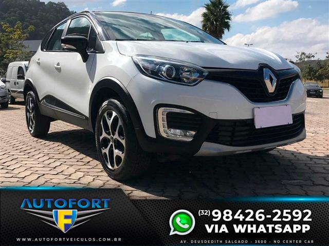 Renault CAPTUR Intense 1.6 16V Flex 5p Aut. 2019/2019