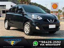 Nissan MARCH SV 1.0 12V Flex 5p 2016/2017