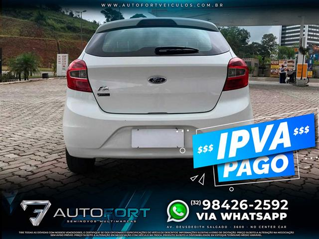 Ford KA 1.0 SE/SE Plus TiVCT Flex 5p 2017/2018