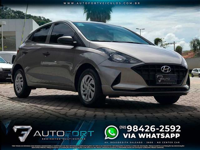 Hyundai HB20 Sense 1.0 Flex 12V Mec. 2020/2021