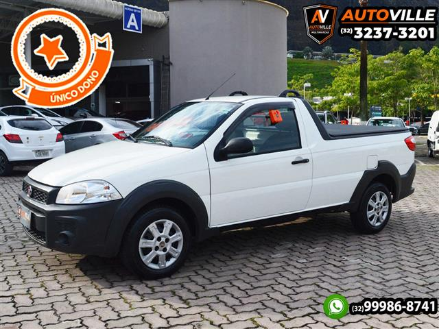 Fiat Strada Working HARD 1.4 Fire Flex 8V CS 2018/2019