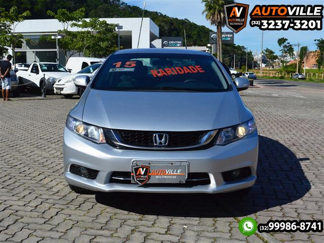 Honda Civic Sedan LXR 2.0 Flexone 16V Aut. 4p 2014/2015