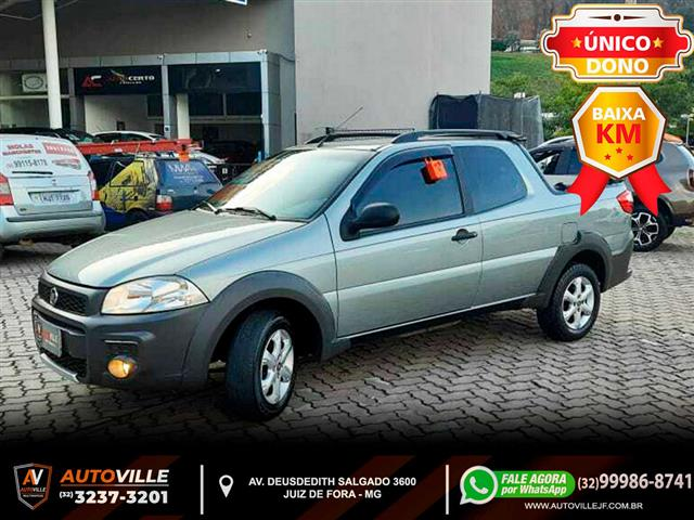 Fiat Strada Working 1.4 mpi Fire Flex 8V CD 2015/2015