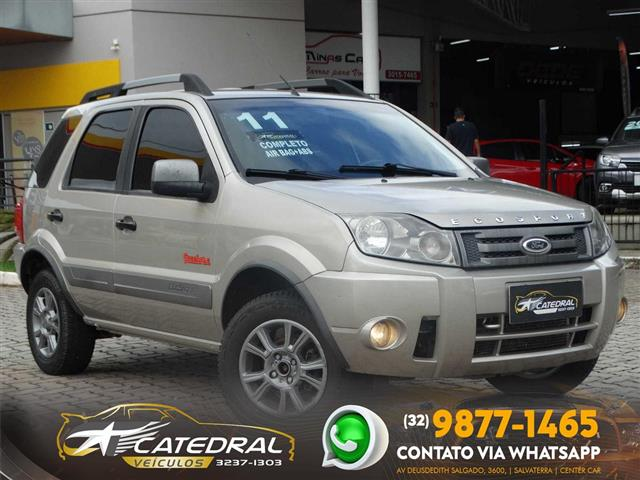 Ford EcoSport XLT FREESTYLE 1.6 Flex 8V 5p 2010/2011