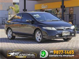 Honda Civic Sedan EXS 1.8/1.8 Flex 16V Aut. 4p 2007/2008