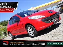 Peugeot 207 XR 1.4 Flex 8V 5p 2011/2011