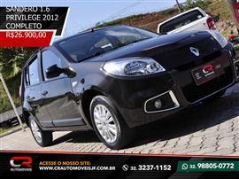 Renault SANDERO Privilège Hi-Flex 1.6 8V 5p 2011/2012