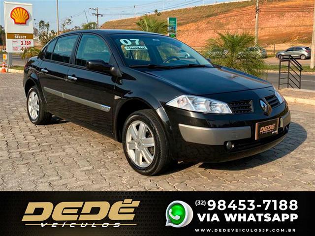 Renault Megane Sedan Dynamique 2.0 16V Aut. 2007/2007