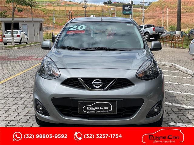 Nissan MARCH SL 1.6 16V FlexStart 5p Aut. 2019/2020