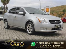 Nissan Sentra 2.0 2.0 Flex Fuel 16V Aut. 2008/2009