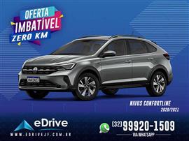 VolksWagen Nivus Comfortline 1.0 200 TSI Flex Aut. 2020/2021