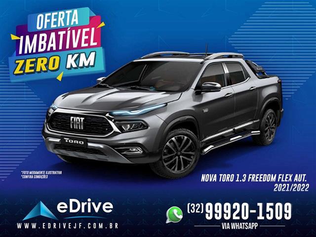 Fiat Toro Freedom 1.3 T270 4x2 Flex Aut. 2021/2022