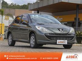 Peugeot 207 XR 1.4 Flex 8V 5p 2010/2011