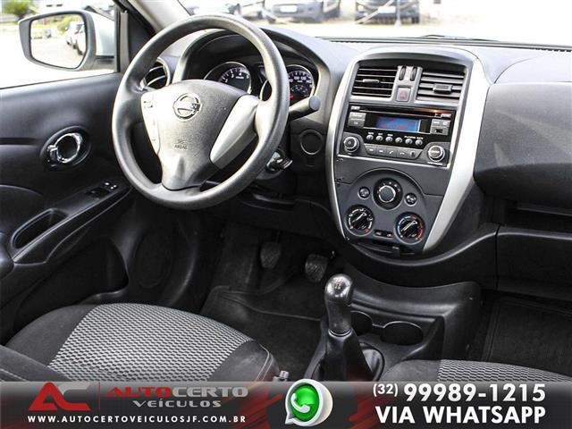 Nissan VERSA SV 1.6 16V Flex Fuel 4p Mec. 2016/2016