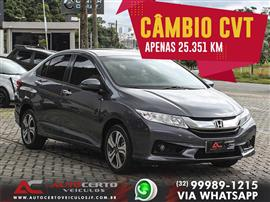 Honda CITY Sedan EX 1.5 Flex 16V 4p Aut. 2017/2017