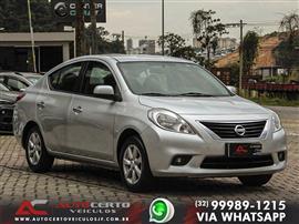 Nissan VERSA SL 1.6 16V Flex Fuel 4p Mec. 2012/2013